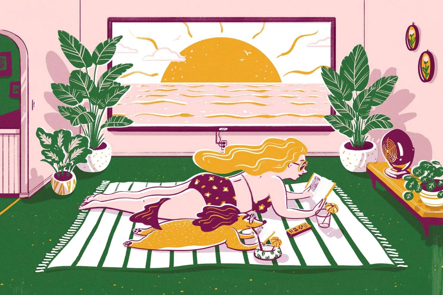 How To Vacation At Home While Social Distancing During Coronavirus The Washington Post