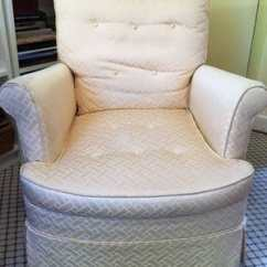 Where To Get Chairs Reupholstered Tufted Wingback Dining Chair Reupholster Or Replace It S Not An Easy Answer The Washington Post This 35 Thrift Shop Shown In Jura Koncius Guest Bedroom Is Need Of Reupholstering But Worth Cost She Trying Figure That Out