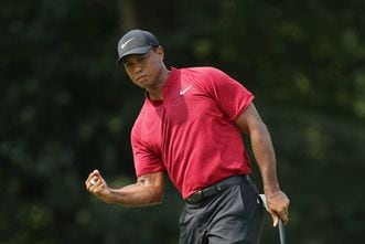 5TCGNTGTII2HRFIYBETTSQUW5A - Tiger Woods now appears to be a 'lock' for the Ryder Cup team