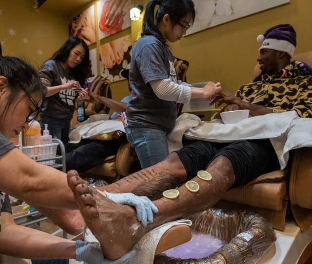 Its Not Like The Barbershop People Try To Be Tough In The Barbershop But When You Go To The Nail Salon I Feel Like You Just Got To Let
