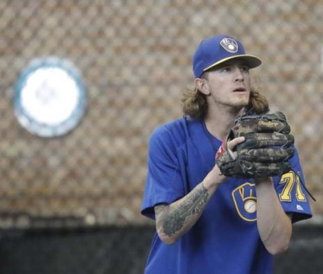 Milwaukee Brewers Relief Pitcher Josh Hader Morry Gash Associated Press