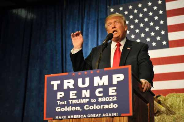 kkks official newspaper supports donald trump for president - HD1484×990