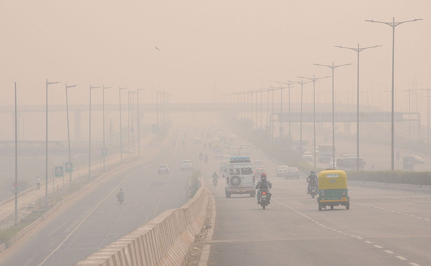 air pollution skyrockets to