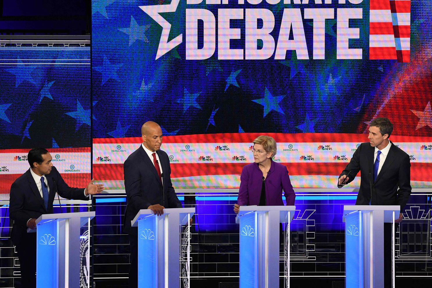 First Night Of The First Democratic Debate Transcript