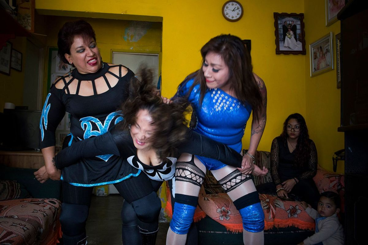 Perspective | Meet the female pro wrestlers of Mexico