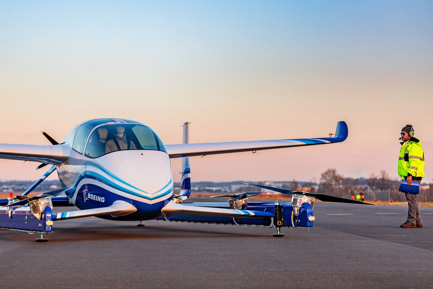 Boeings selfdriving air taxi completes first test flight