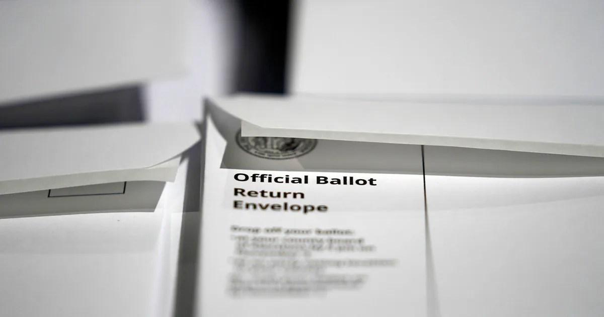 North Carolin ballot design