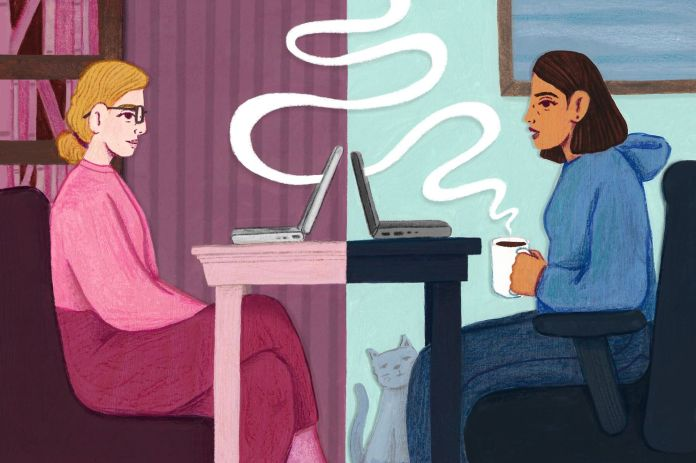 The surprising intimacy of online therapy sessions during the pandemic -  The Washington Post