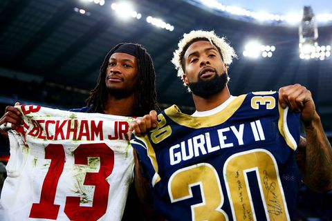 Image result for odell beckham jr rams