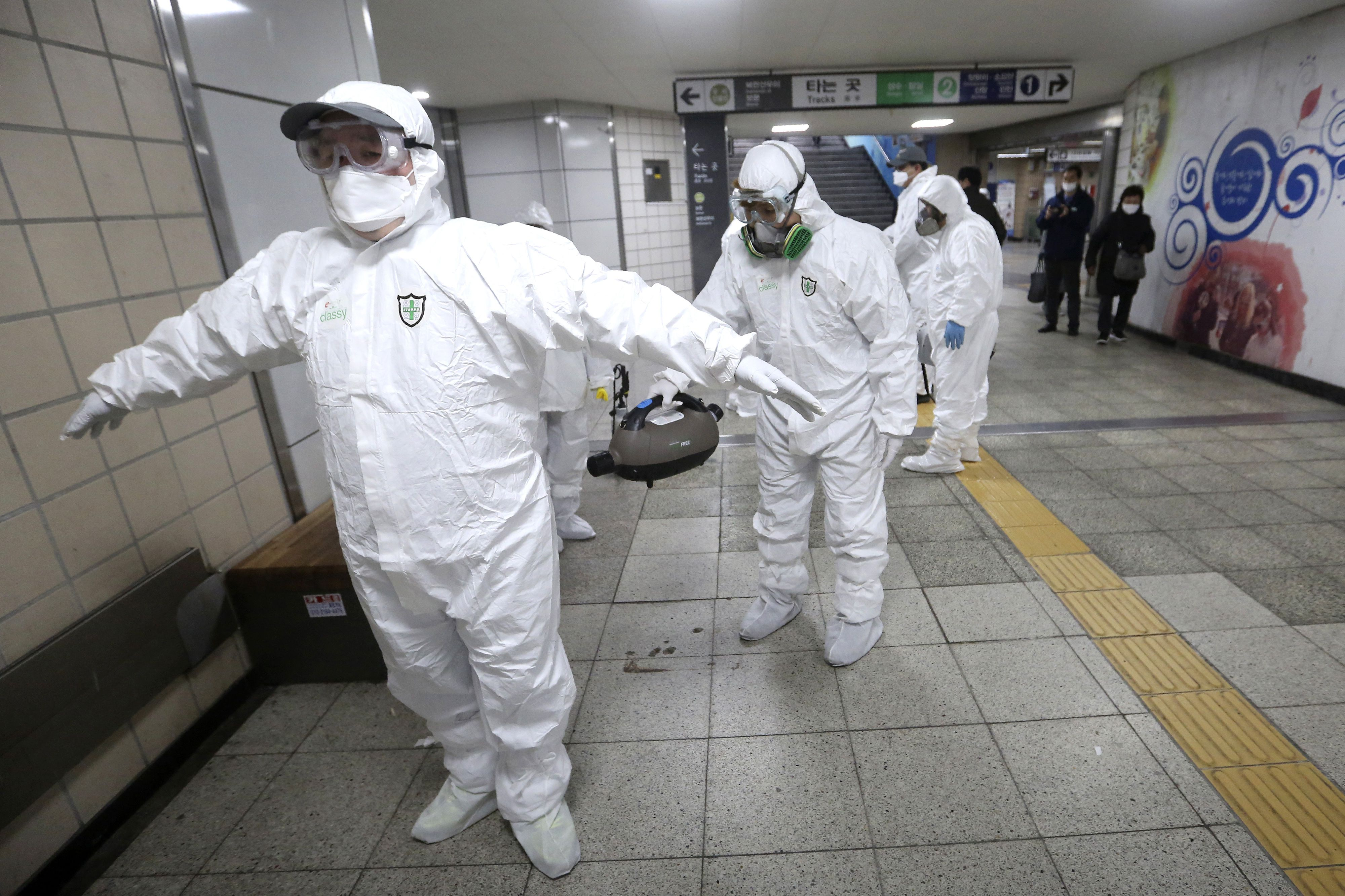 South Korean coronavirus spike linked to doomsday sect with ...