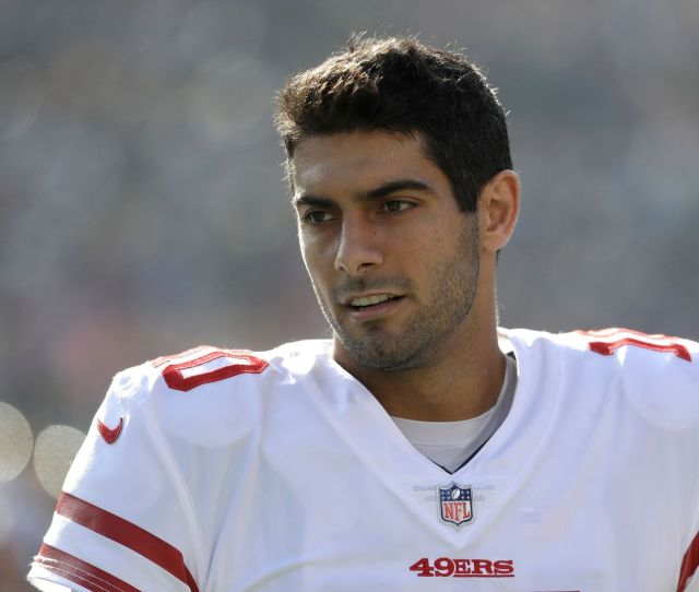 After Date With Porn Star Jimmy Garoppolo All Too Aware Hes Under A Microscope
