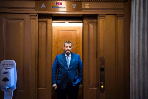 Ted Cruz offers a very strained defense of Trump's social media executive order