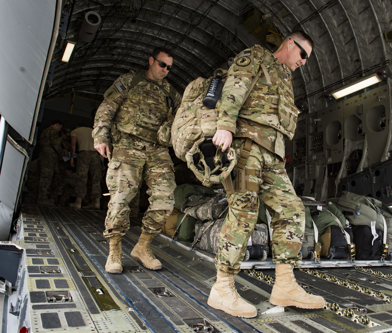 US disbands command overseeing American ground forces in