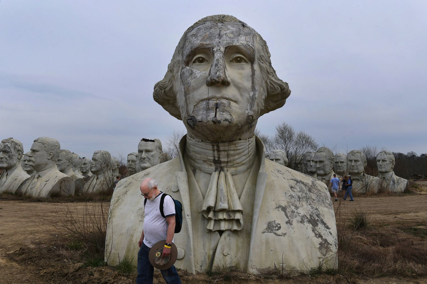 Searching For Traces Of George Washington In Places Where