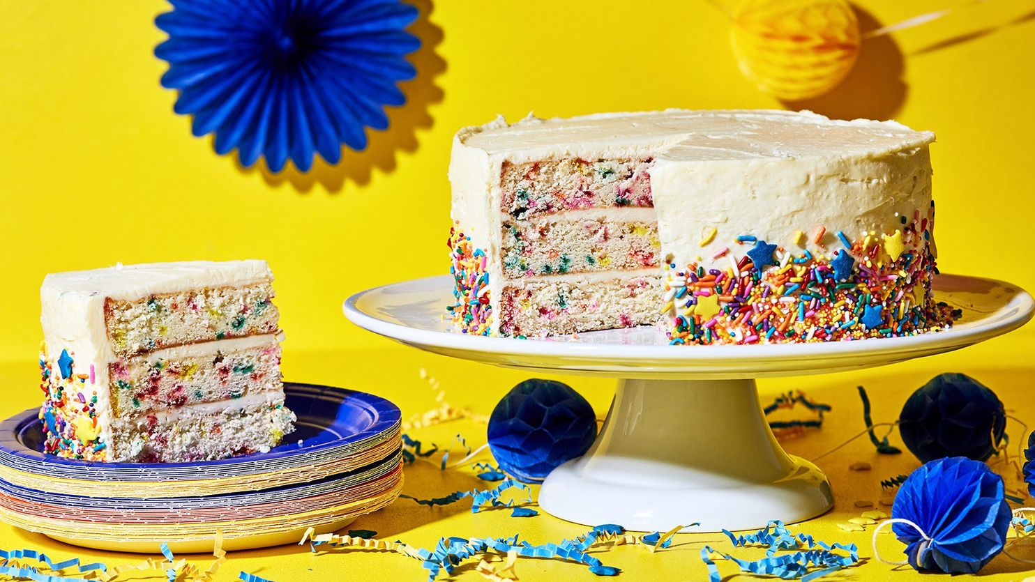 A Stunning Funfetti Birthday Cake Recipe To Get Any Party