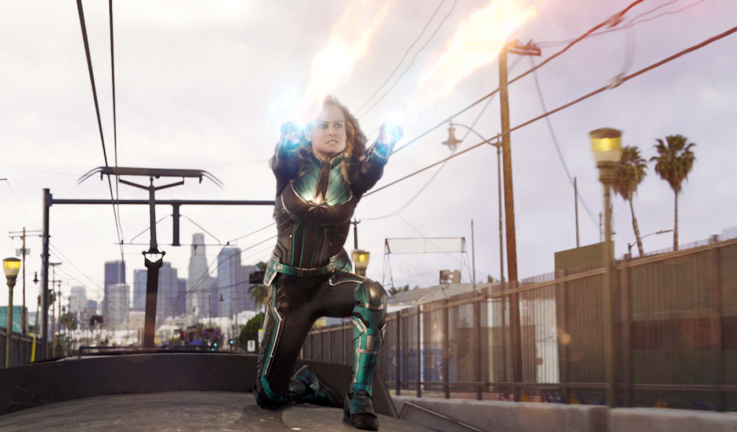 captain marvel' is the 'lean in' of superhero movies - the