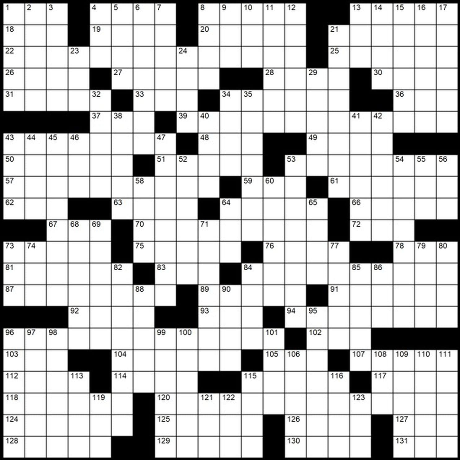 "Evan Birnholz's March 17 Post Magazine crossword, ""... And"