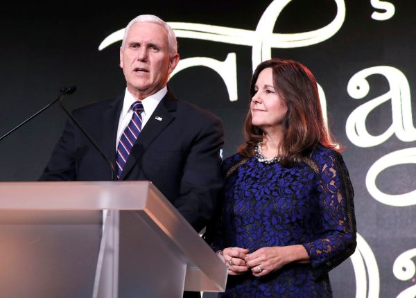 Mike Pence Responds Outrage Over Karen Pence' Immanuel