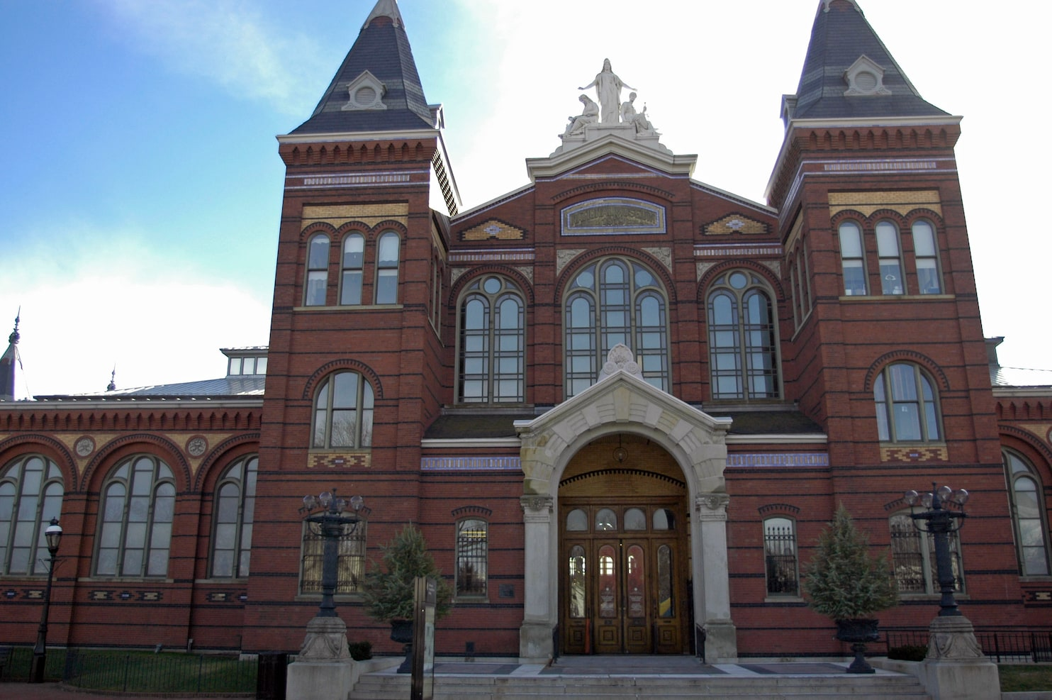 Smithsonian Plans Reopen Renovated Arts And Industries