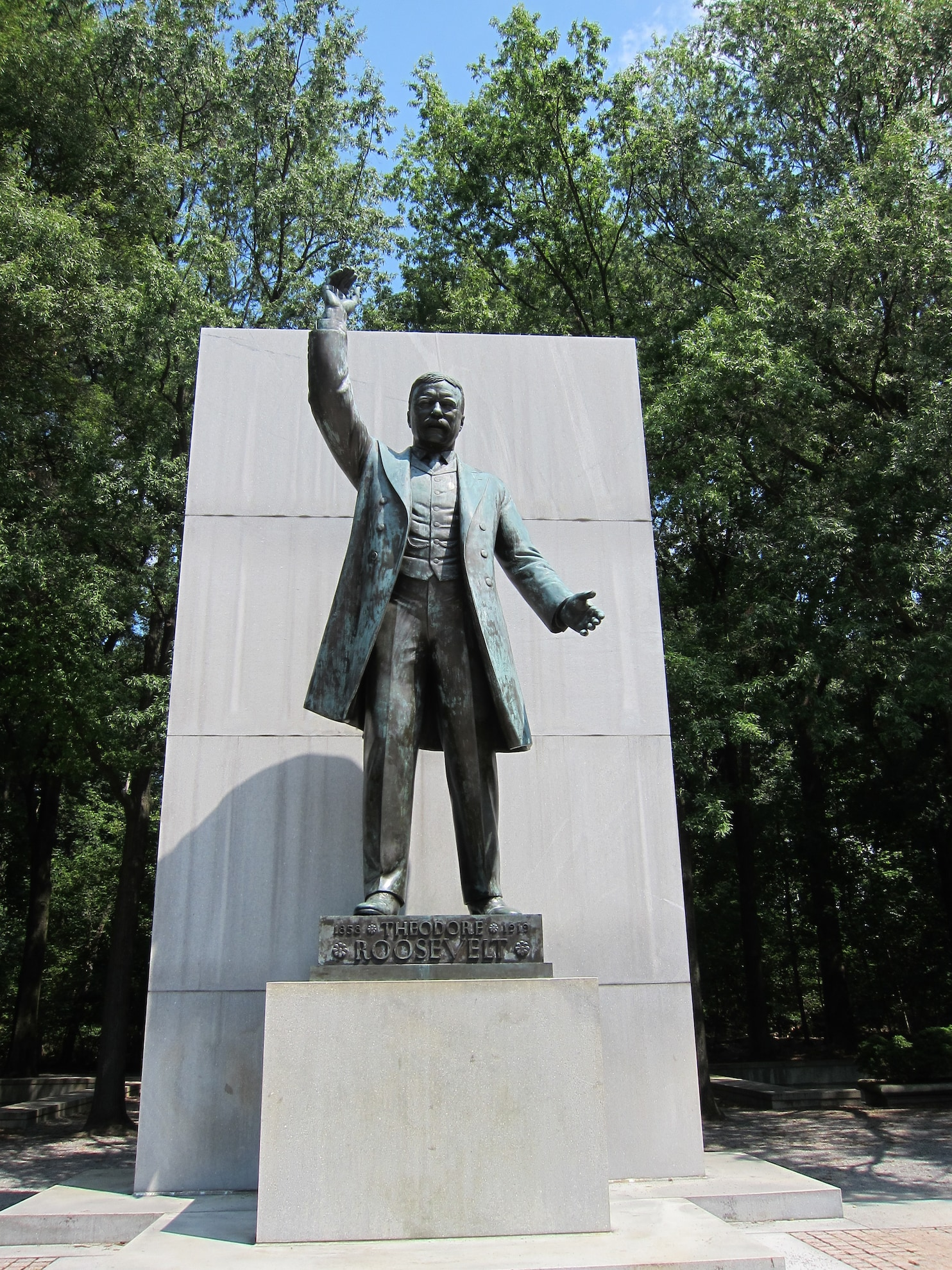 Theodore Roosevelt memorials repairs have hit obstacles