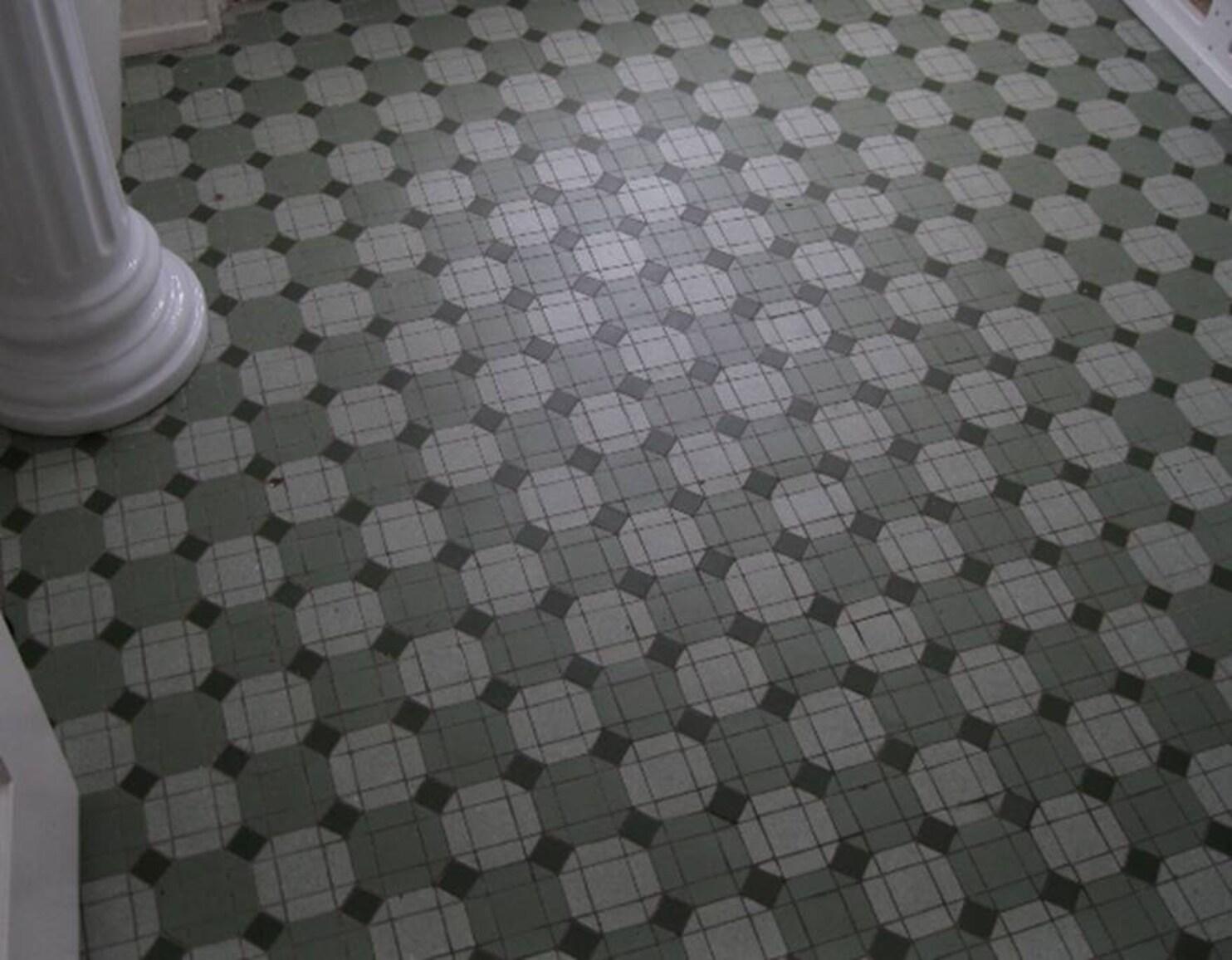 replace old bathroom floor tiles