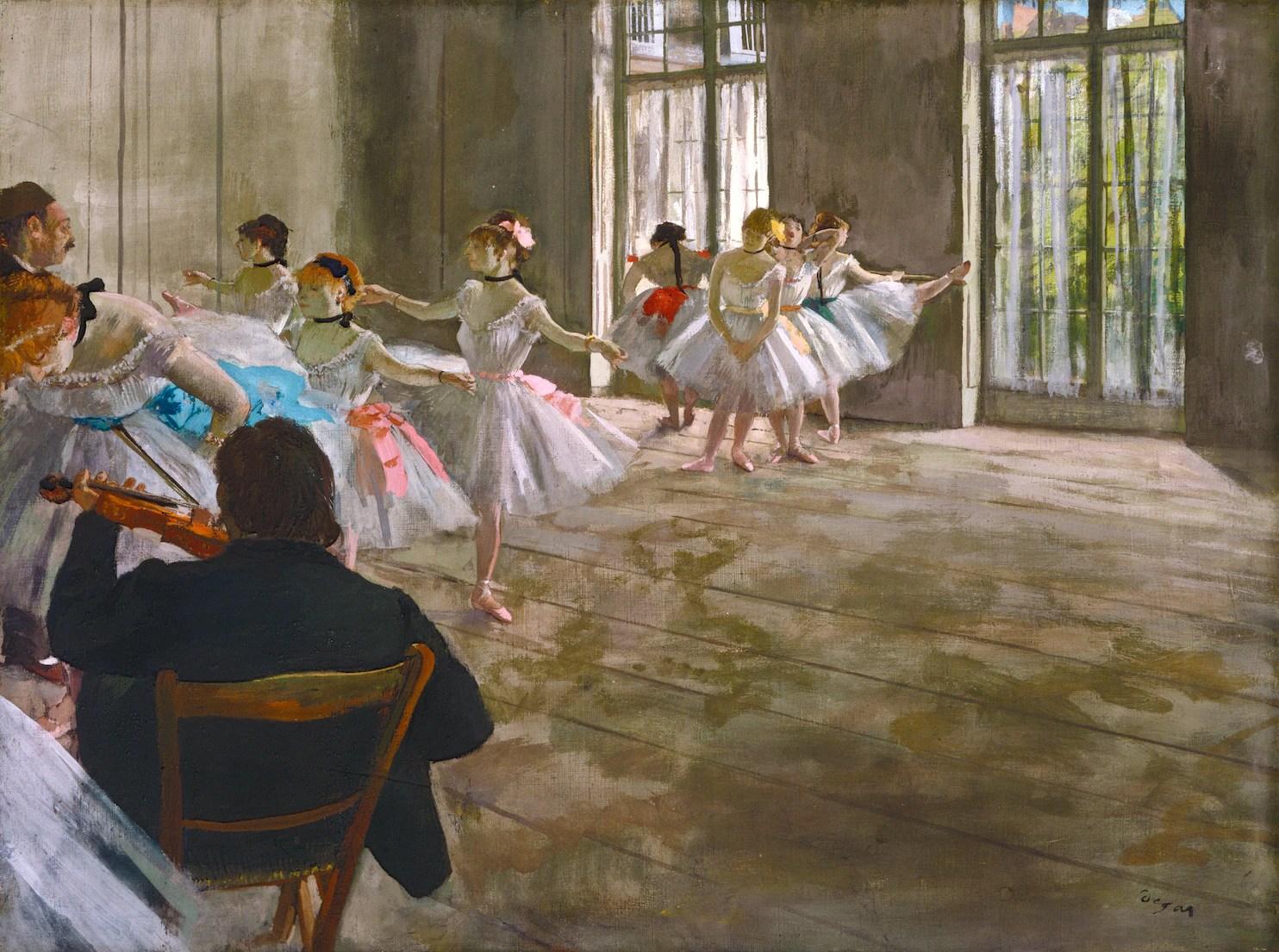 Degas And Cassatt National Exhibit Show Artists Influenced