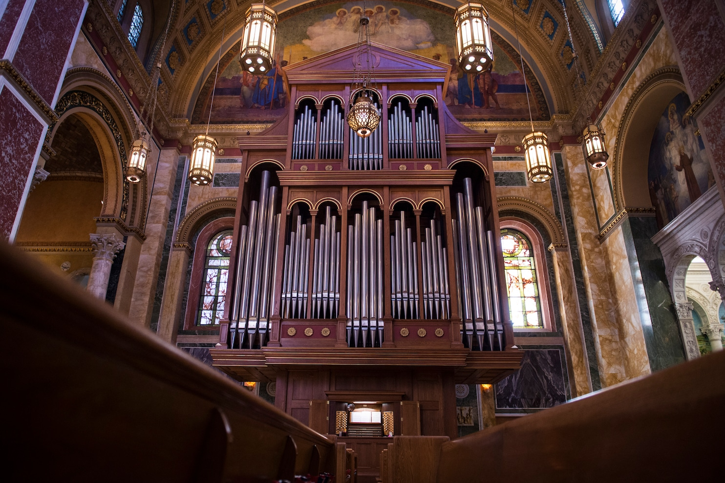 After 30 years a cathedrals towering organ may finally
