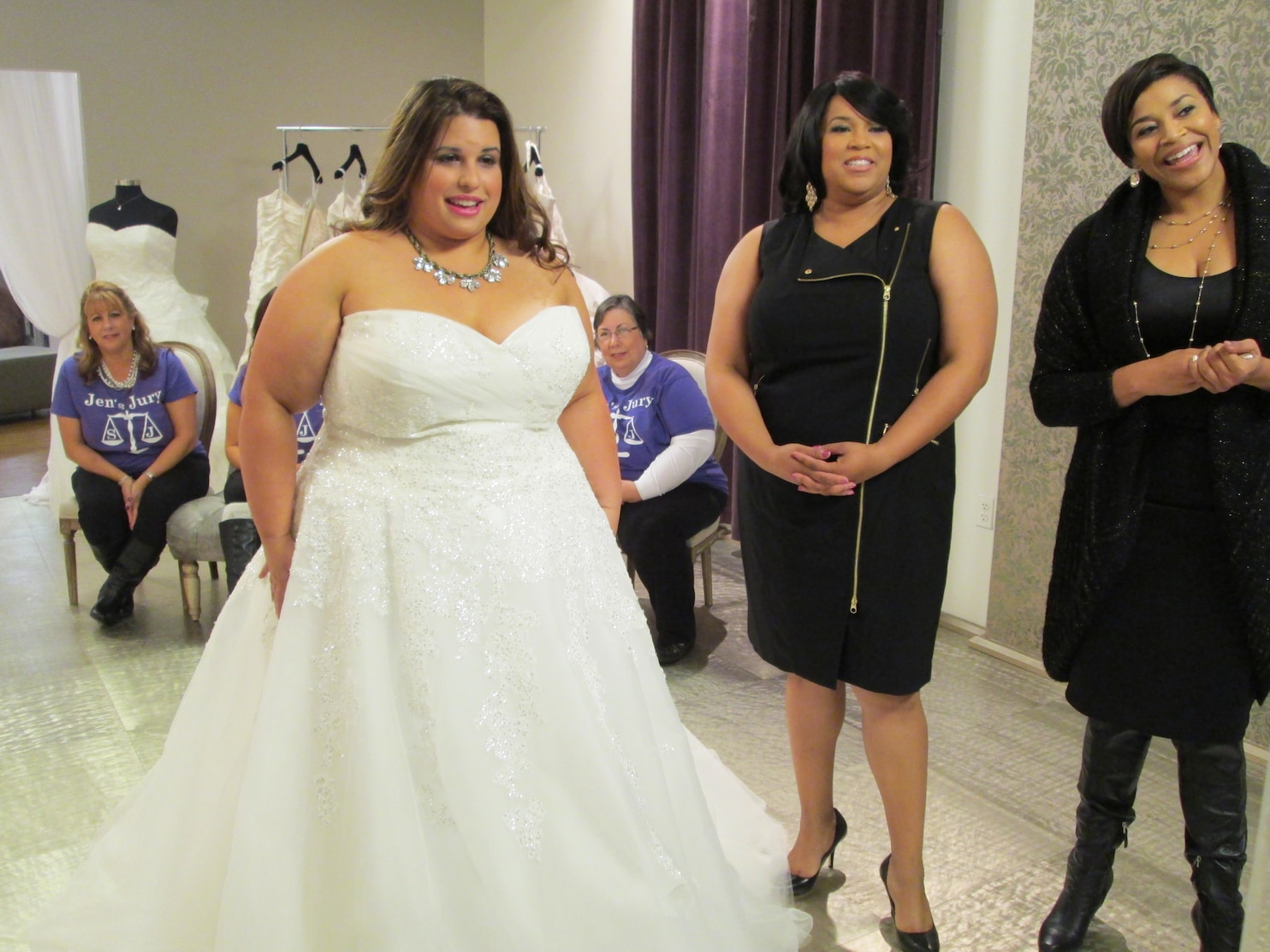 TLC features local salon in new show Curvy Brides  The