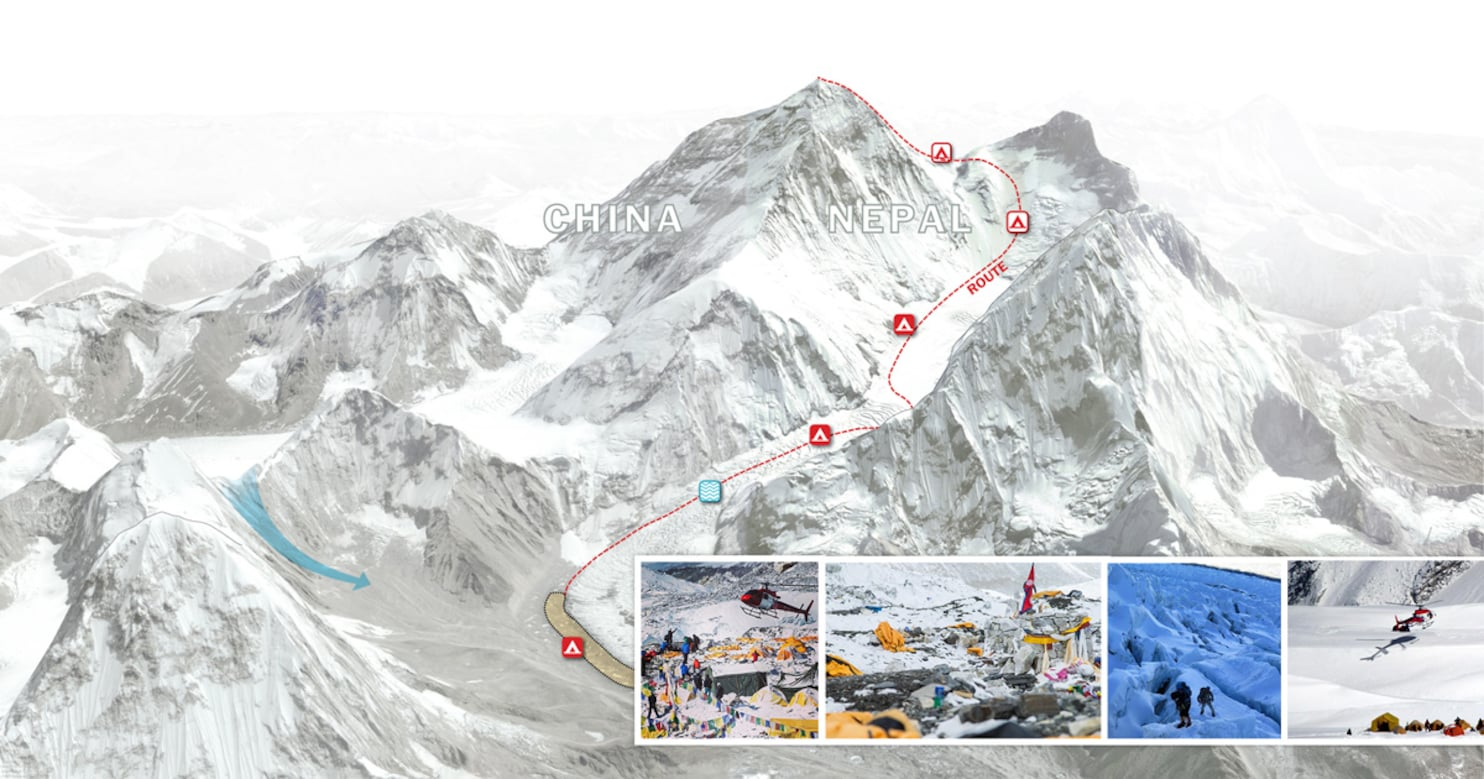 Ice Fall Wallpaper When Mount Everest Shook A Minute Of Horror Hours Of