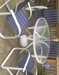 How to replace the sling on Samsonite patio furniture ...