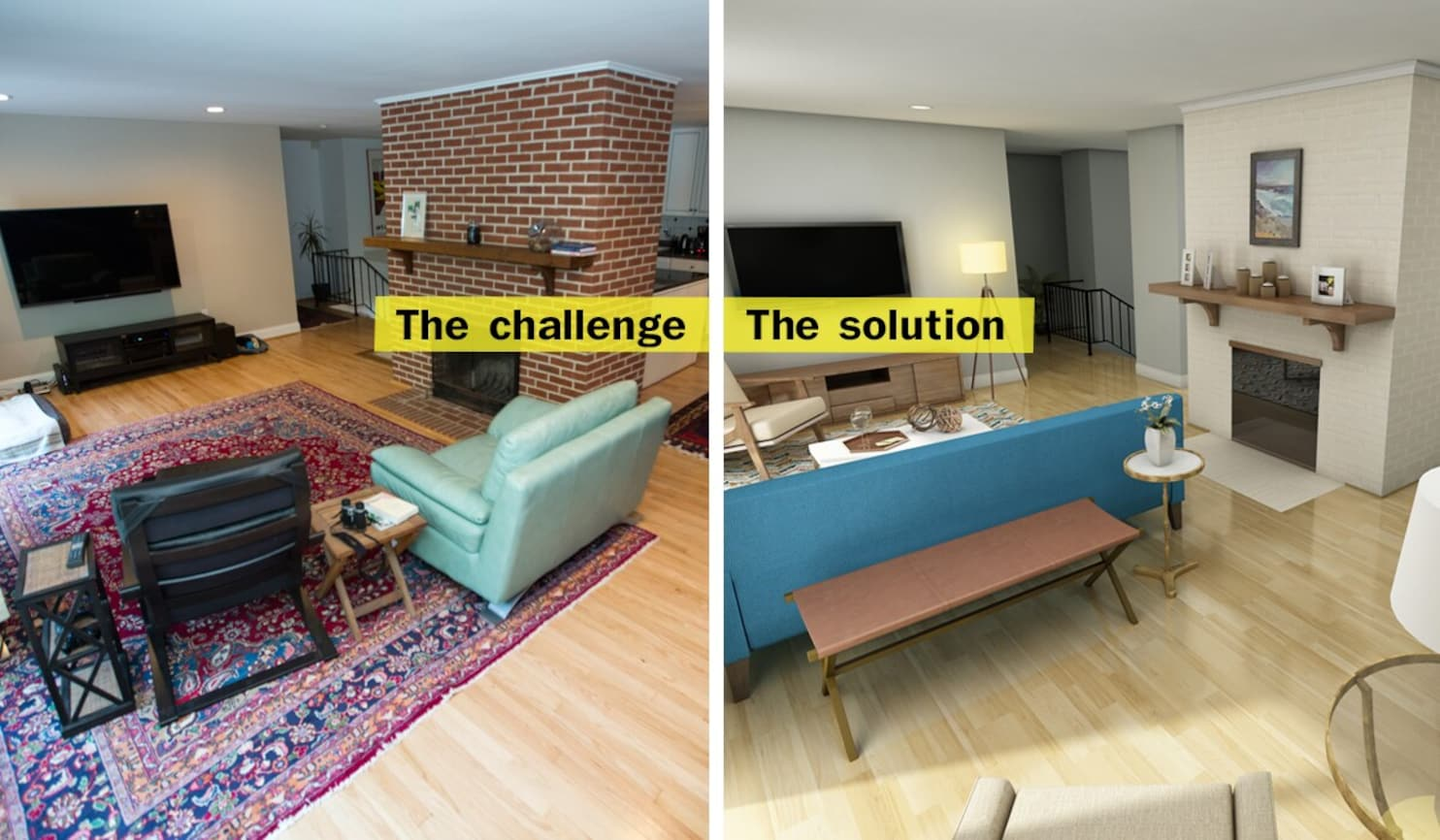 L Shaped House Interior Design
