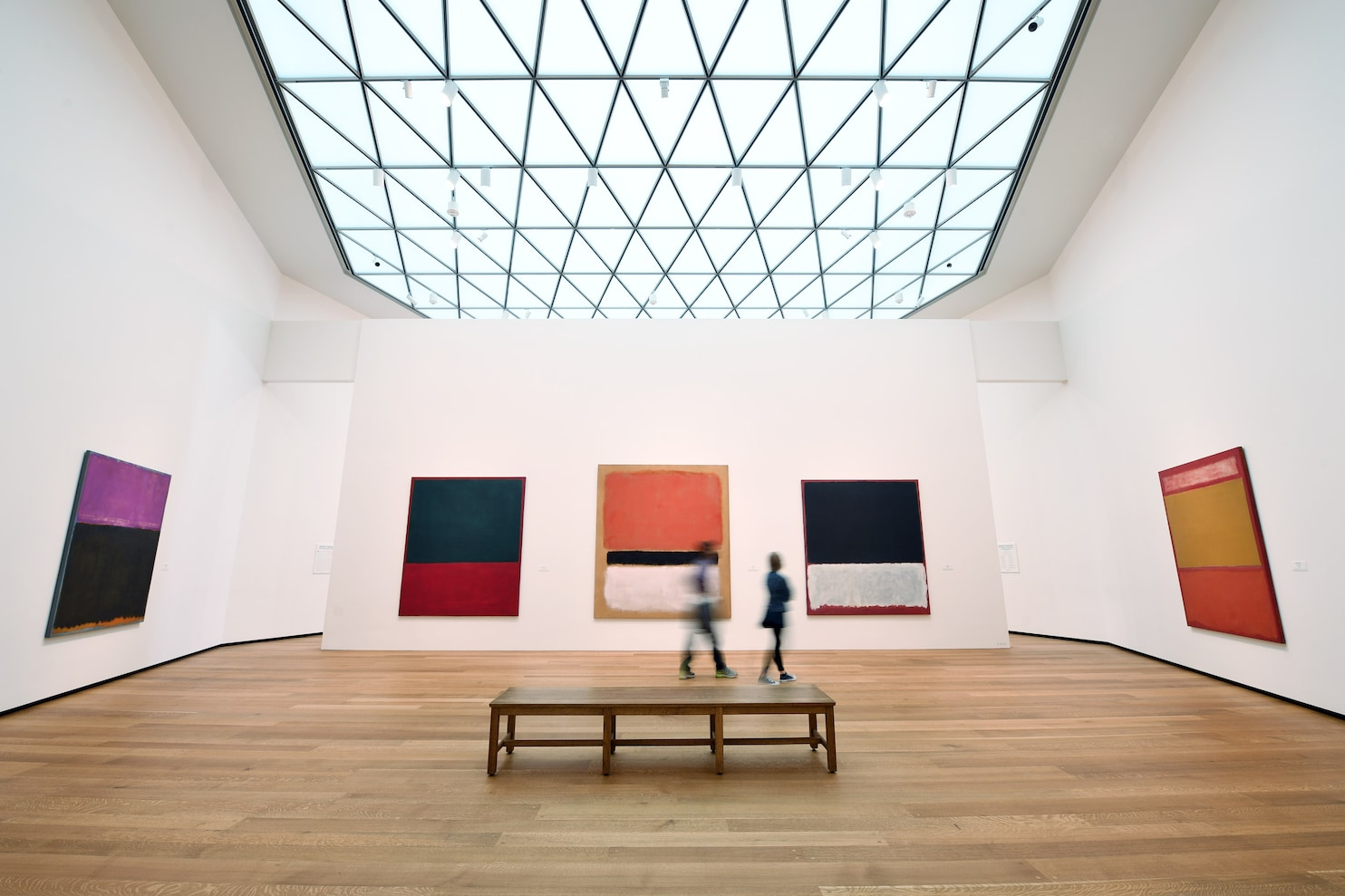 Two Rooms 14 Rothkos And World Of Difference