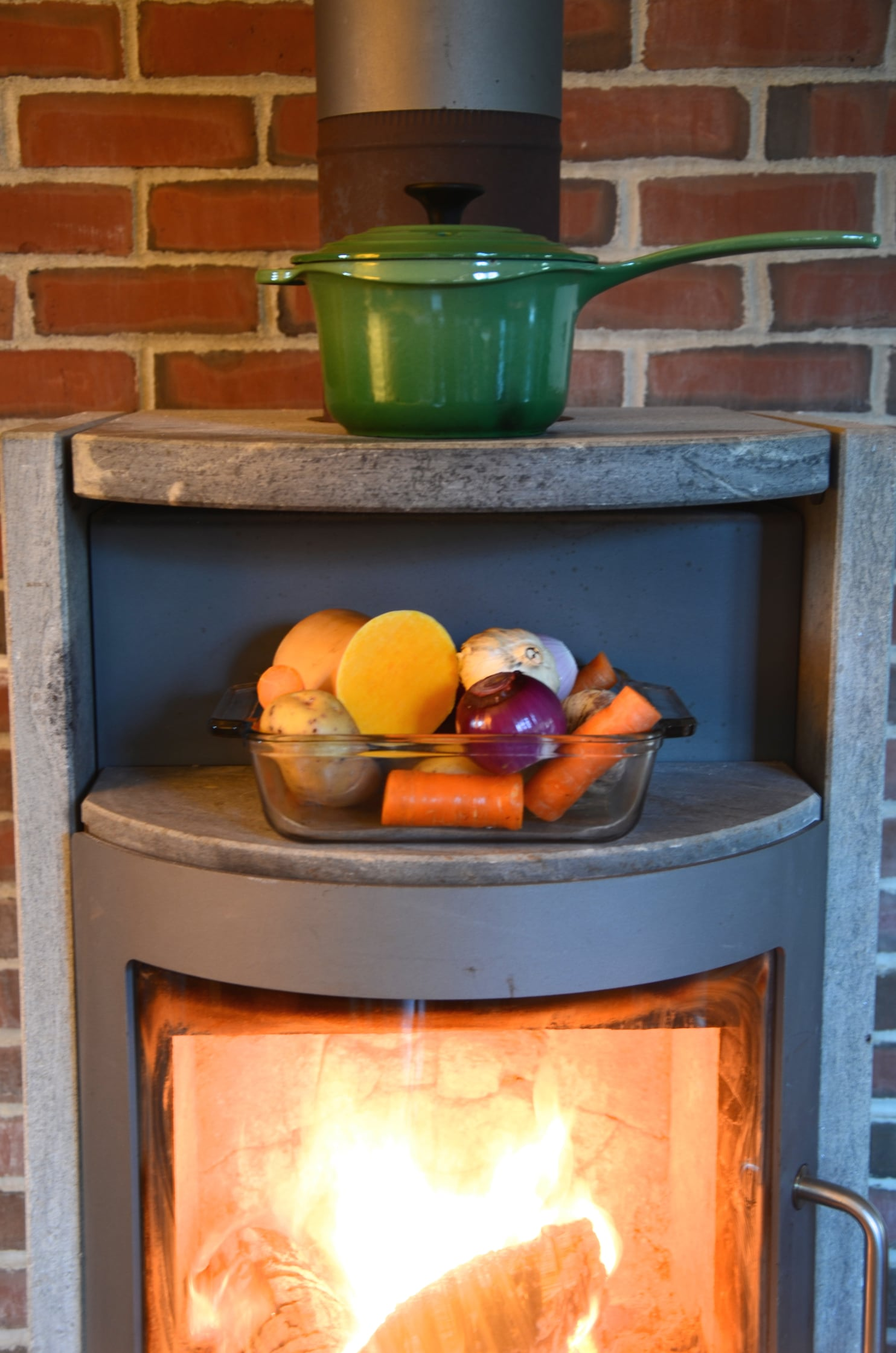 1970s Gas Fireplace - Year of Clean Water