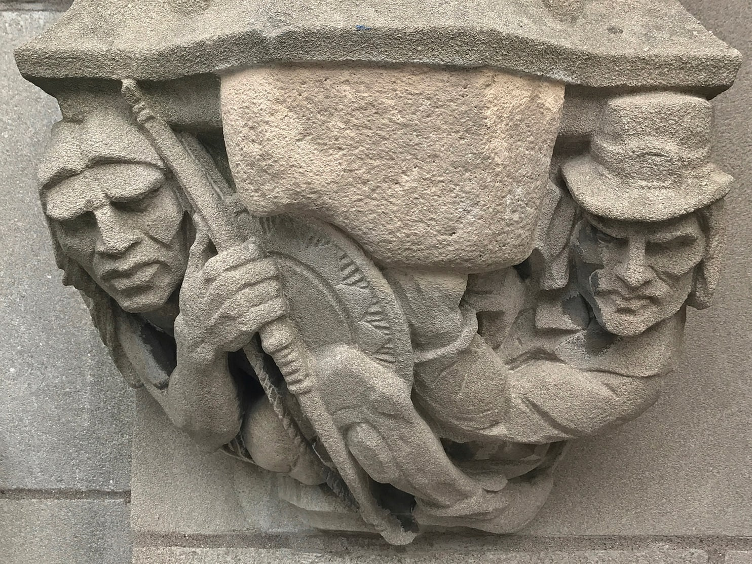 Yale Saves Fragile Students Carving Of Musket