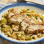 Pork Chops And Cabbage With Mustard Cream Sauce The Washington Post