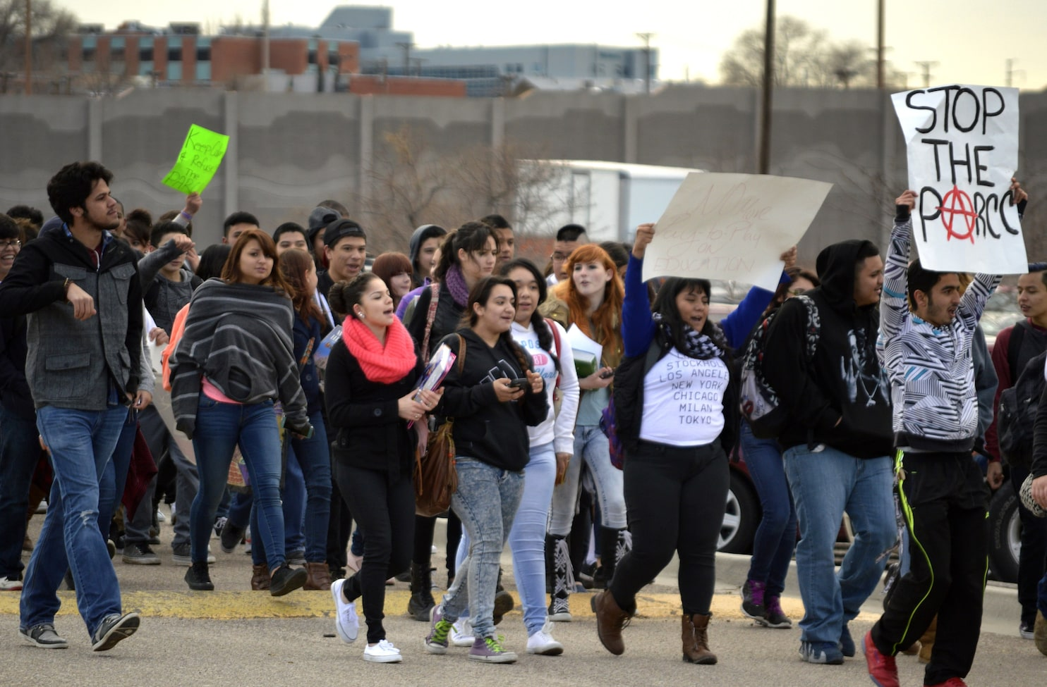 Mexico High School Students