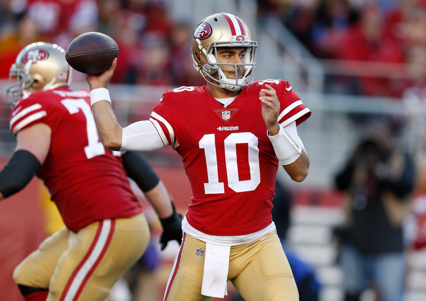49ers Jimmy Garoppolo has been 'just as good as advertised, if
