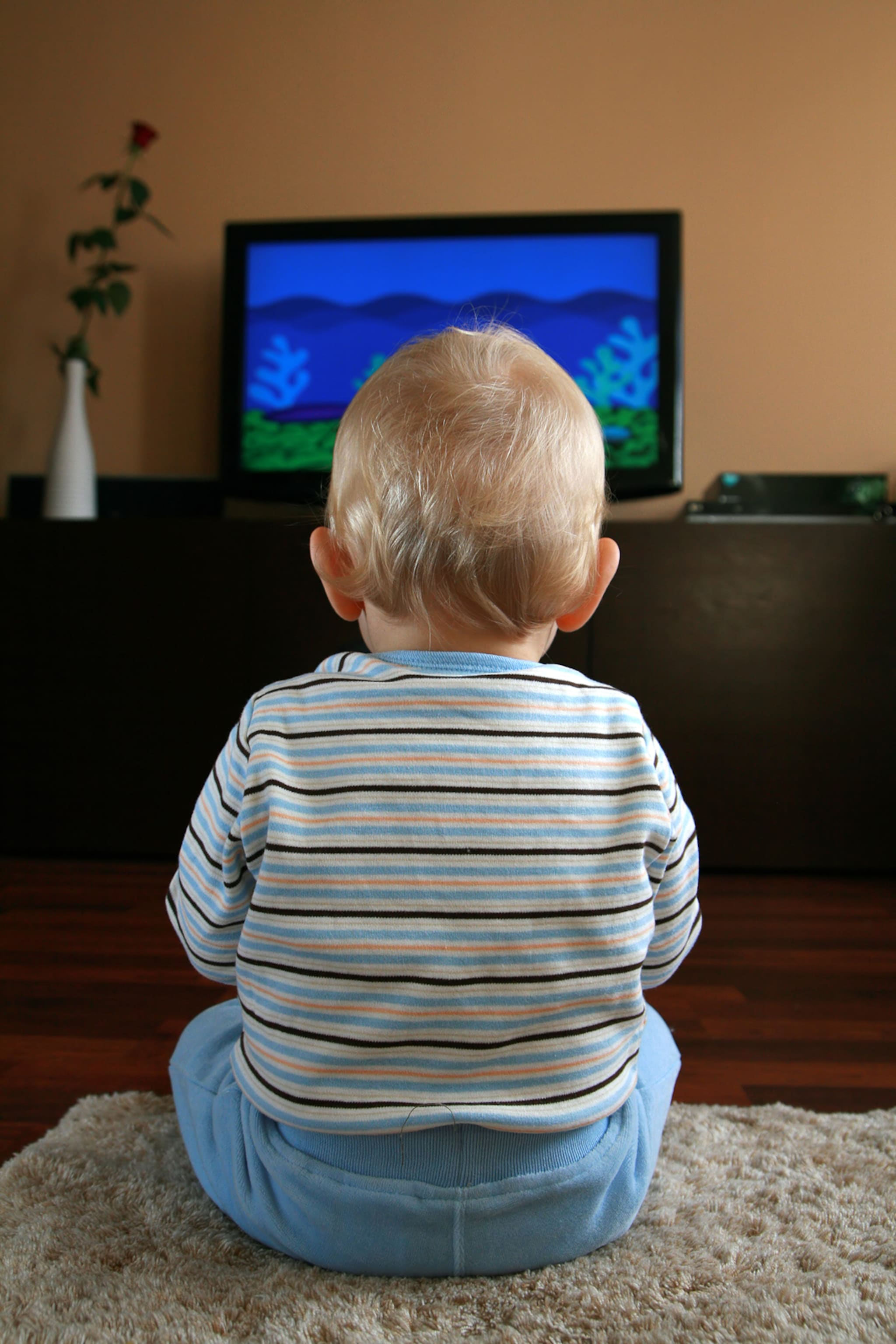 TV watching is linked to brain changes in kids  The