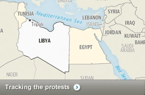 Middle East and North Africa in turmoil