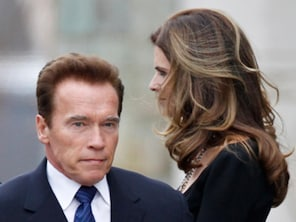 The L.A. Times is reporting that former California Gov. Arnold Schwarzenegger and his wife Maria Shriver separated after Schwarzenegger revealed he had fathered a child with a member of their household staff. (May 17)