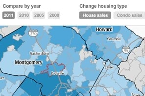 Real estate trends over the past 10 years in the D.C. metropolitan area.