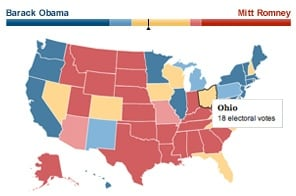 Explore the 2012 electoral map and view historical results and demographics