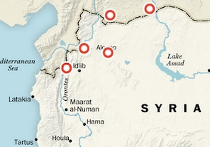 Interactive: Recent events in Syria