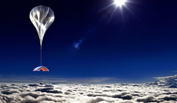 ( Courtesy of World View Enterprises, Inc. ) - In a new twist on commercial space flight, a Tucson-based company offers to carry passengers nearly 100,000 feet in a capsule lifted balloon.