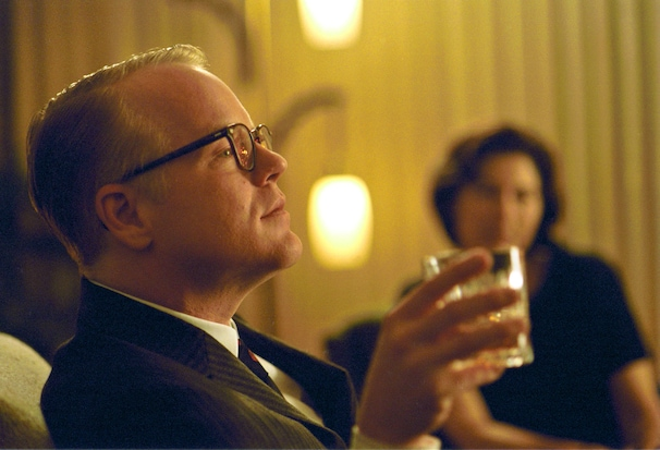 In this undated publicity photo released by Sony Pictures Classics, Philip Seymour Hoffman portrays writer Truman Capote in a scene from the film,