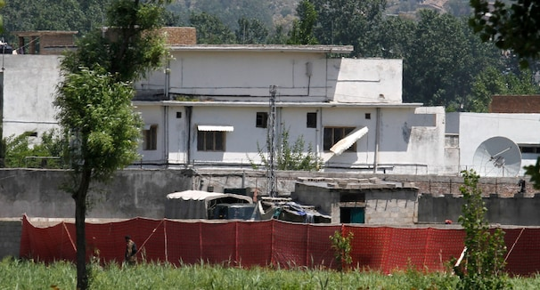Bin-Laden's Abottabad, Pakistan compound.