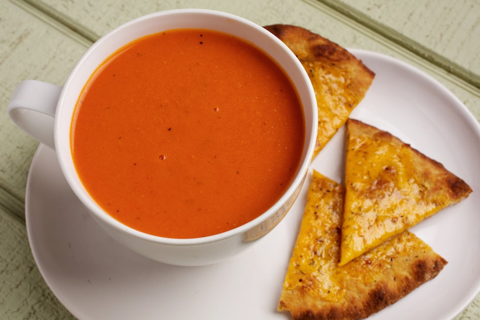 Fast Blender Tomato Soup The Washington Post