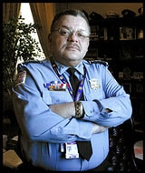 Police Chief Charles H. Ramsey's car was stolen while he was out of town at a conference.