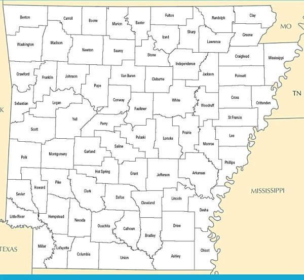 Map of Arkansas Arkansas Maps Mapsofnet