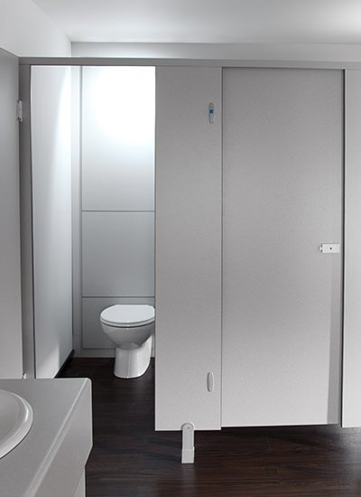 Toilet Cubicles manufactured in the UK by Cubicle Centre